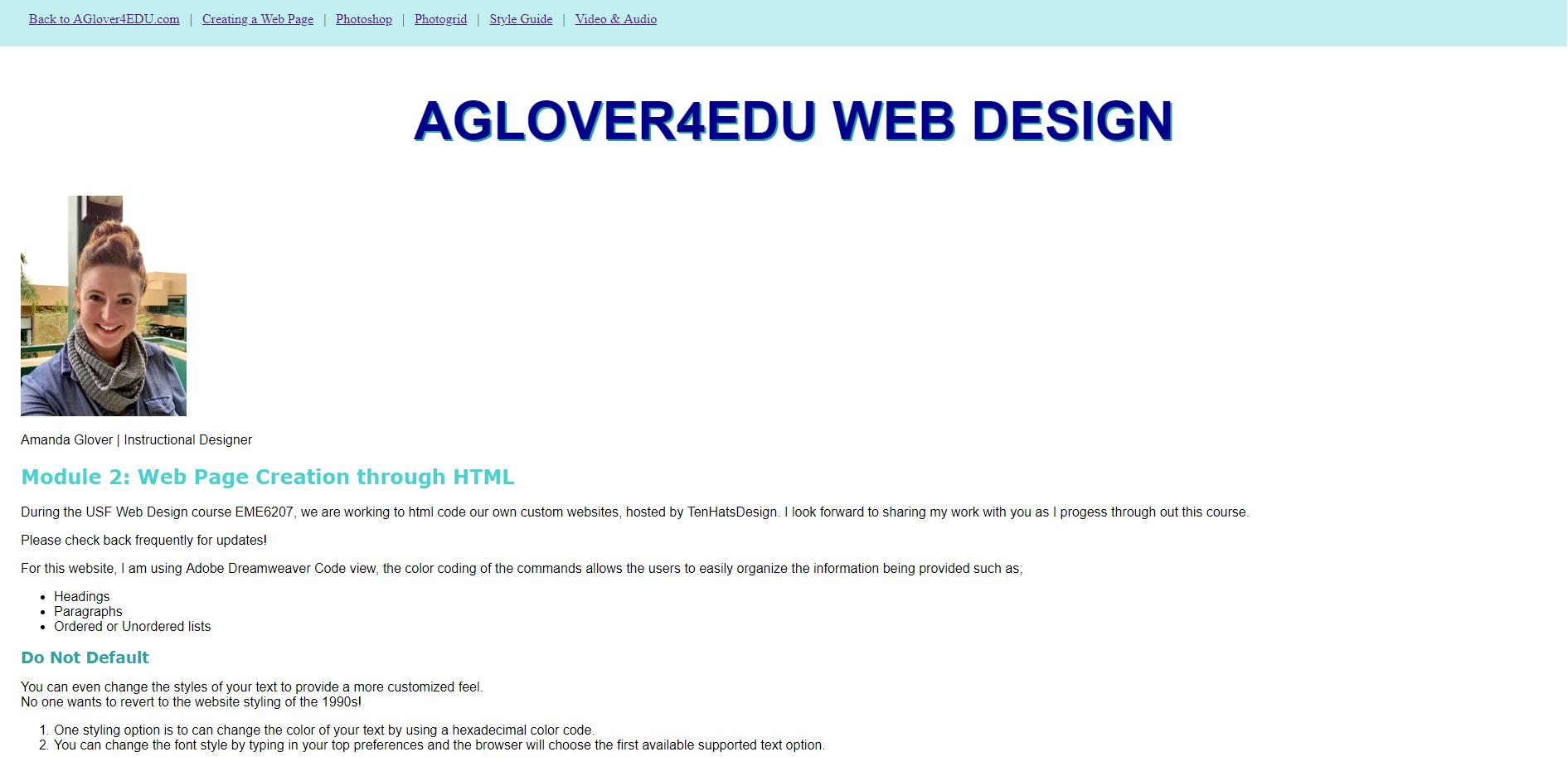 Ux And Ui Design Amanda Glover Eportfolio Aglover Mail Usf Edu